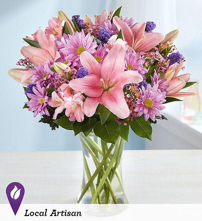 Floral Treasures Bouquet 1800flowers Com 145673