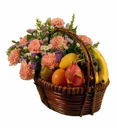 Fruit + Flowers Bouquet
