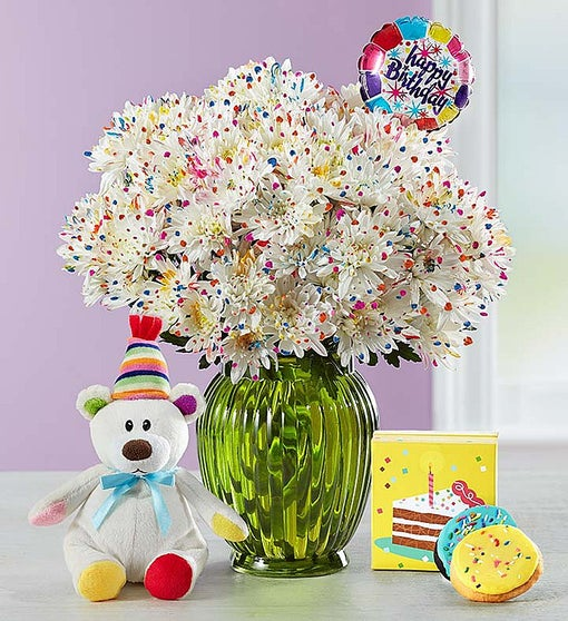 Happy Birthday Confetti Bouquet
