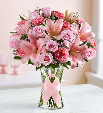 The Pink Ribbon Bouquet