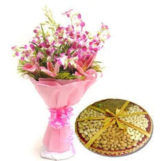 Orchids N Dryfruits - Diwali Gift