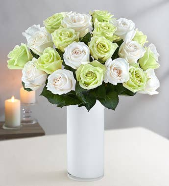 Winter Roses for Sympathy