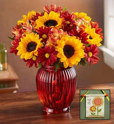 Fall Country Bouquet + Free Sunflower Banner