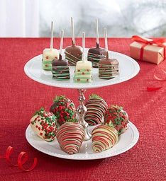 Christmas Strawberry and Cheesecake Bundle™