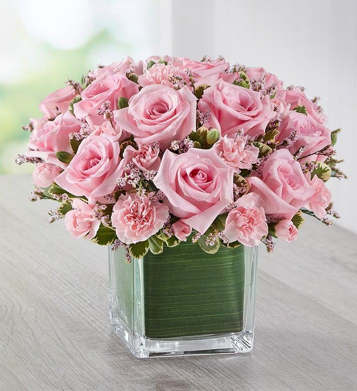 pink rose fancy by real simple 148508. Black Bedroom Furniture Sets. Home Design Ideas