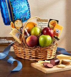 Fruit & Gourmet Basket for Dad