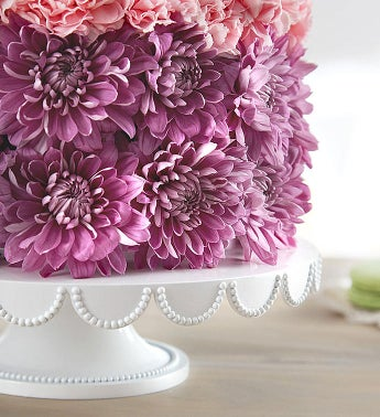 Birthday Wishes Flower Cake Pastel 1800Flowerscom 148666