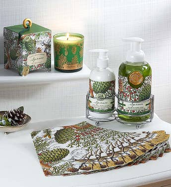 Michel Design Works Spruce Bath Essentials