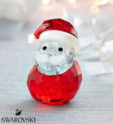 Swarovski® Santa Figurine Collectible