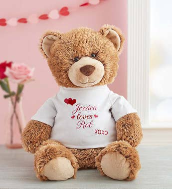 Personalized Tommy Teddy™ 'Hugs and Kisses'