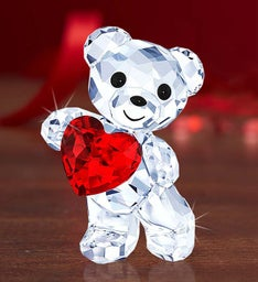 Swarovski® Kris Bear 'A Heart for You' Keepsake