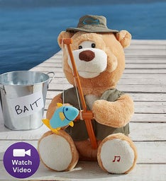 Gone Fishin' Flynn Animated Bear