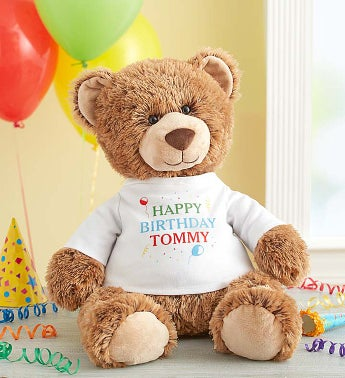 Personalized Tommy Teddy Celebrate