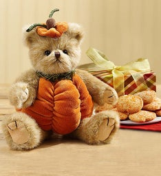 Bearington® Fall Pumpkin Bear & Cheryl's Cookies