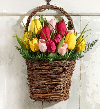 Keepsake Tulip Door Dcor