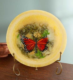Butterfly Garden Scented Wax Bowl