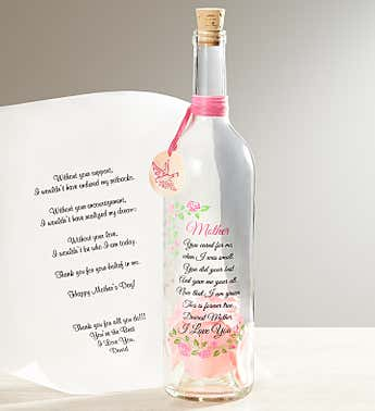 Personalized Message in a Bottle® for Mother's Day