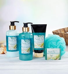 Camille Beckman® Secret Sea Spa Gift Set