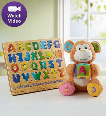 Animated ABC Charlie Learning Gift Set