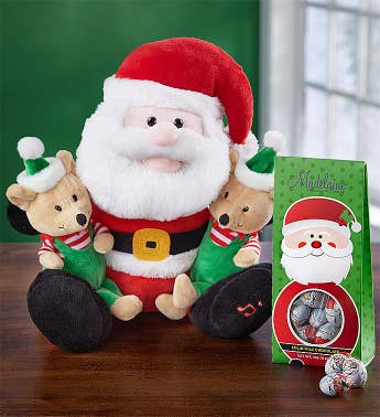 Animated Santa and Friends