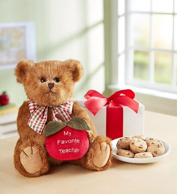 Favorite Teacher Bearington® with Cheryl's Cookies