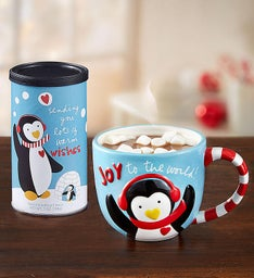 Personalized Sandra Magsamen® Holiday Mug & Cocoa
