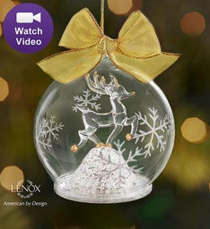 Lenox® Color Changing Reindeer Ornament