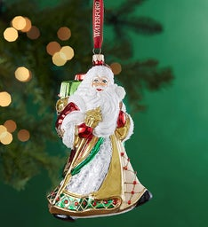 Waterford® Santa Ornament
