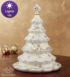 Lenox® Light Up Porcelain Tree