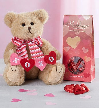 Bearington® Valentine's Day Bear & Chocolates