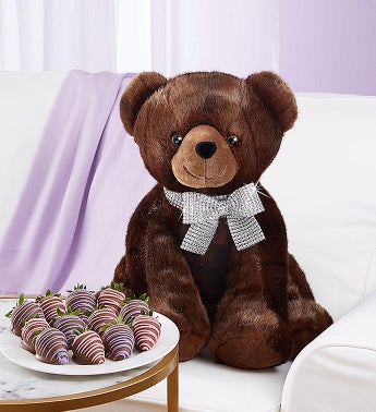 Lotsa Love® Sable™ Bear for Mother's Day