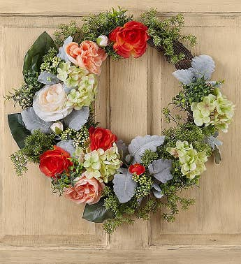 Keepsake Luna Rose Garden Wreath – 24
