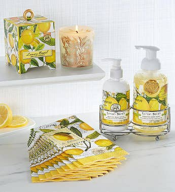 Michel Design Works Lemon Basil Bath Essentials