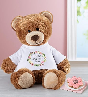 Personalized Tommy Teddy™ For Mom- FREE COOKIES