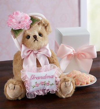 Bearington Bear For Grandma With Cookies