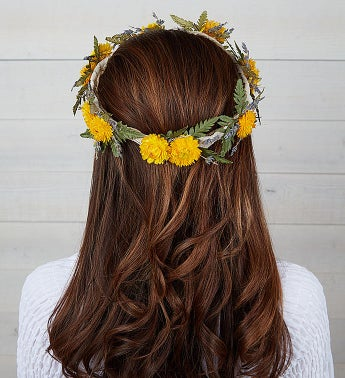 Preserved Floral Crown - Maize