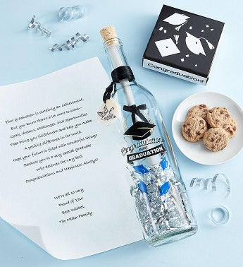 Personalized Graduation Message In A Bottle