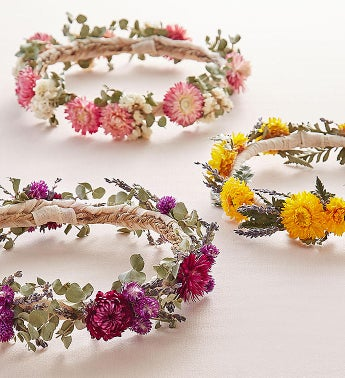 Preserved Floral Crowns