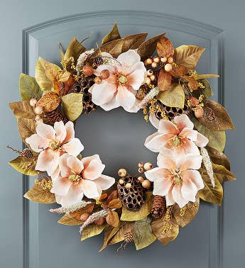 Blooming Magnolia Wreath- 24