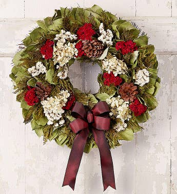 Preserved Victorian Holiday Wreath  18D