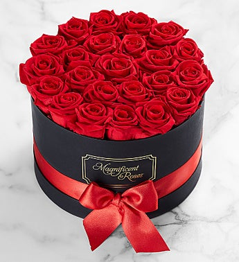 Magnificent Roses® Preserved Red Roses