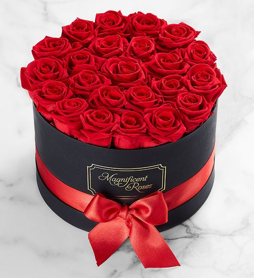 Magnificent Roses™ Preserved Red Roses