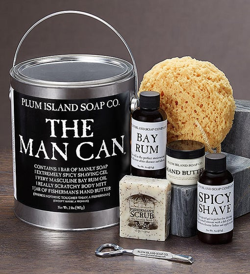 The Man Can - Men's Grooming Gift Set