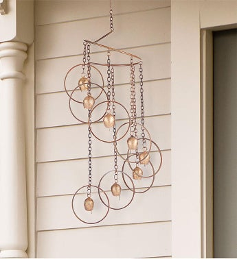 Antique Brass Windchime