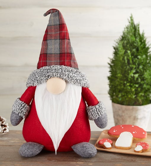 Gnome for the Holidays Plush and Cookies