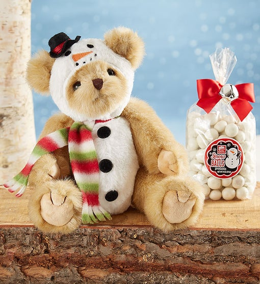 Bearington® Frost E Bear with Candy
