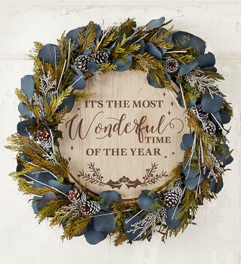 It's the Most Wonderful Time of the Year Wreath-18