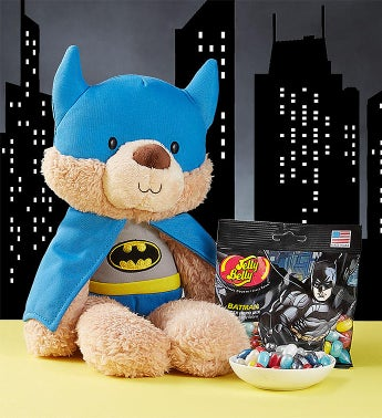 Gund® Batman Plush and Jelly Belly Jelly Beans