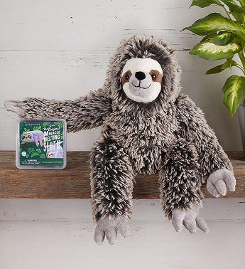 The Petting Zoo Plush Sloth