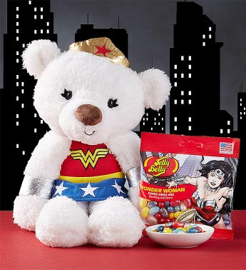 Gund® Wonder Woman  Plush and Jelly Beans